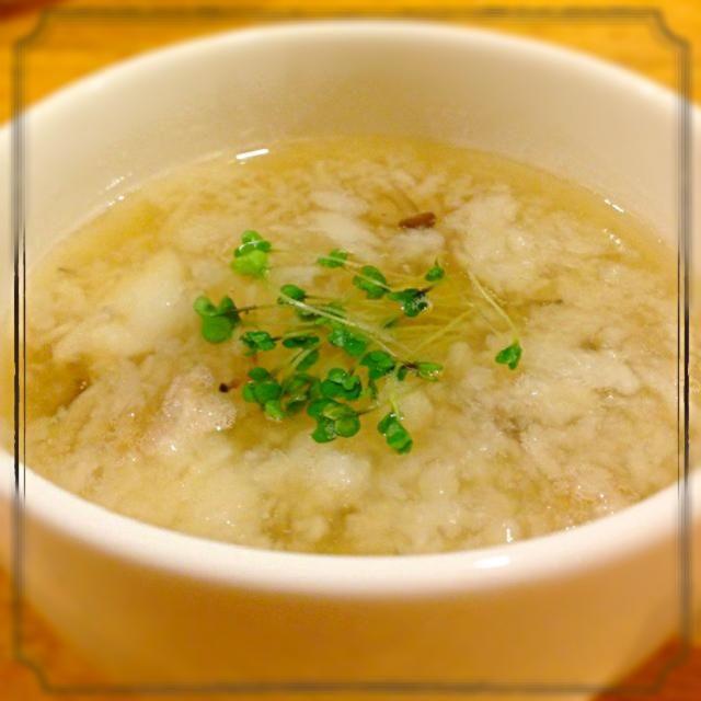 ふわふわトロトロのスープです。 - 94件のもぐもぐ - 山芋ふわトロスープ by sumity