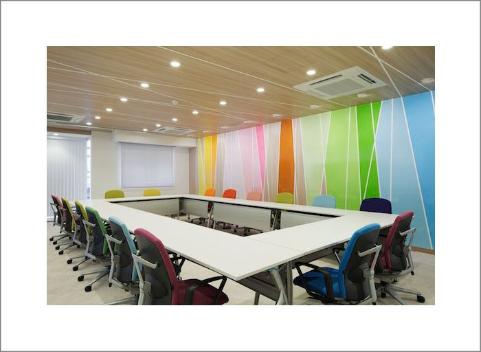 Boardroom designed by Emmanuelle Moureaux Architecture and Design