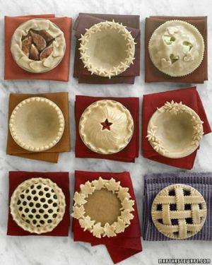 Making Decorative Piecrusts - oh that Martha! by mavrica