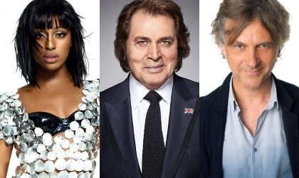 Alexandra Burke, Guy Chambers, Gorgon City and Engelbert Humperdinck for new Christmas charity single