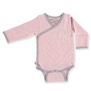 MERINO KIDS Cocooi LS Bodysuit 3-6 Months Aoraki Pink