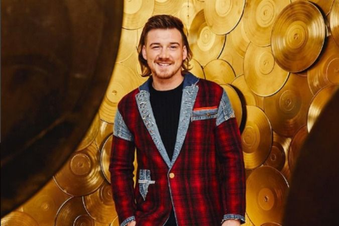 Morgan Wallen Wins The Red Carpet With Plaid Denim Suit And