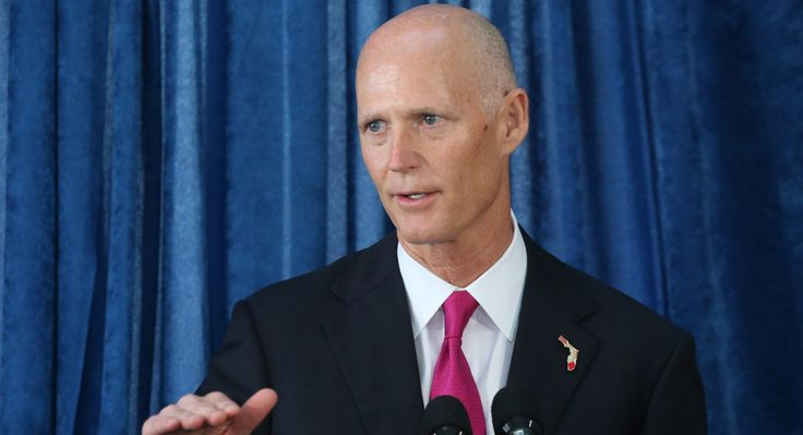 Florida Gov. Rick Scott endorses Donald Trump.