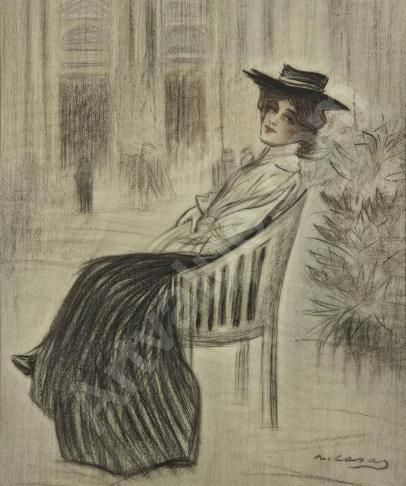 Ramon Casas i Carbó (Spanish: 1866-1932)