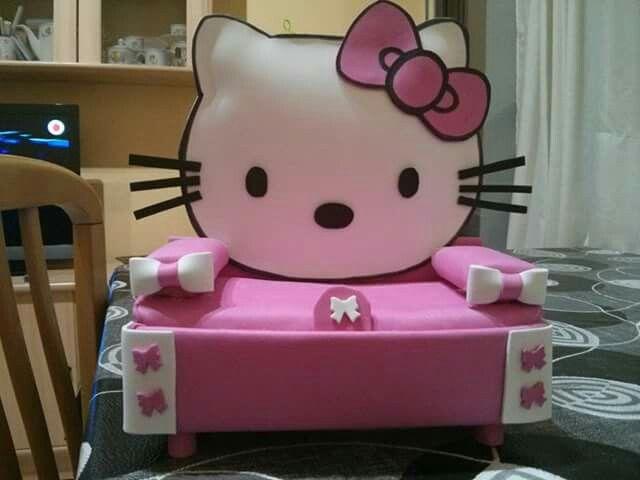 Sofa kitty goma eva