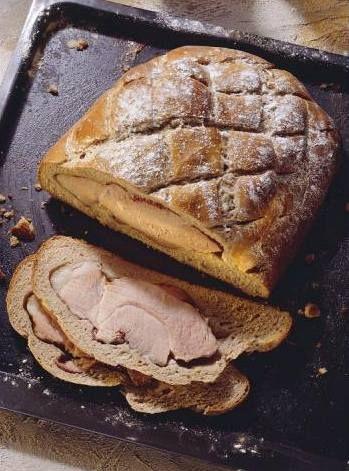 Pražská šunka v chlebovém bochníku