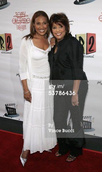 News Photo: Actress singer Telma Hopkins and singer Joyce Vincent…