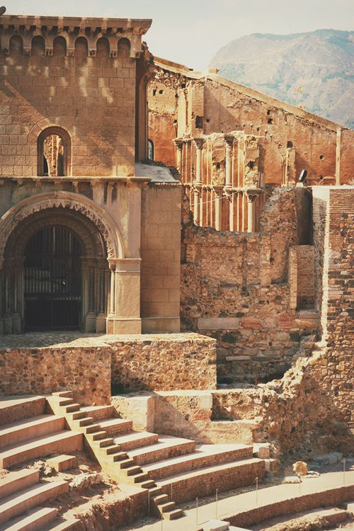 roman theatre, cartagena, spain | travel photography #ruins