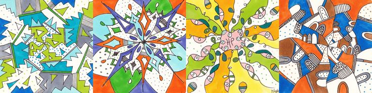 Doodles - Handouts and instructions for Praying in Color Workshops for Adults and Children