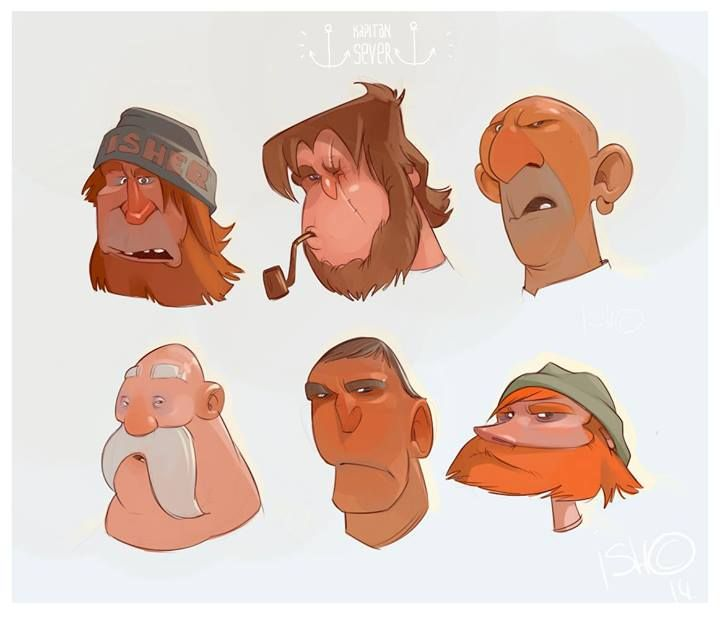 2 Male Cartoon Characters : Images about sergey ishmaev ish on pinterest
