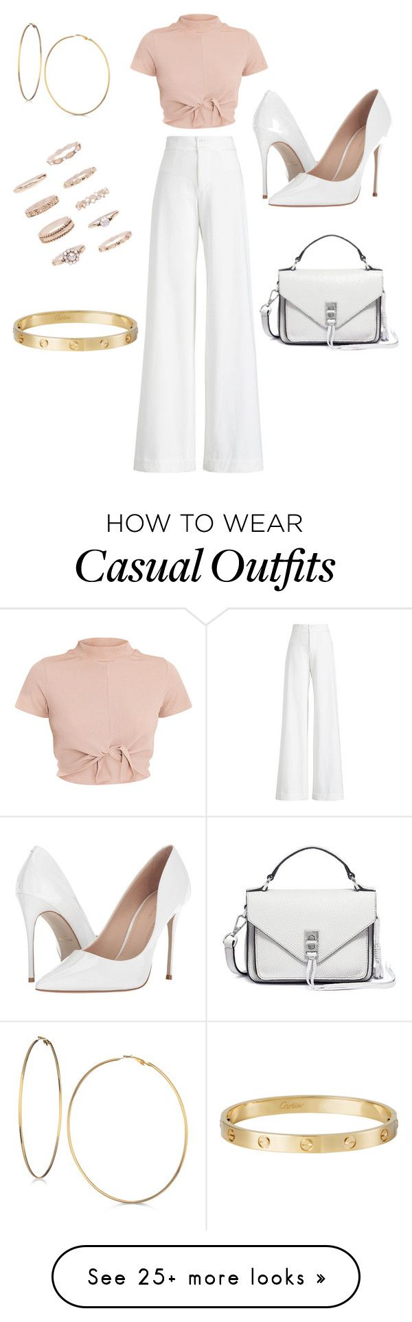 """Casual"" by sierra-braun on Polyvore featuring Ralph Lauren Collection, Massimo Matteo, GUESS, Forever 21, Cartier and Rebecca Minkoff"