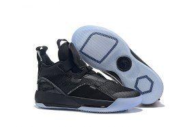 new arrival 18c61 14ee9 Air Jordan 33 XXXIII Future of Flight Triple Black Sneakers Men s  Basketball Shoes
