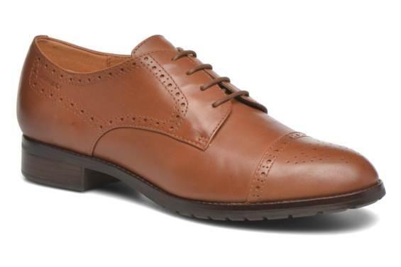 Chaussures à lacets D Wallis ABX D34E5C Geox vue 3/4