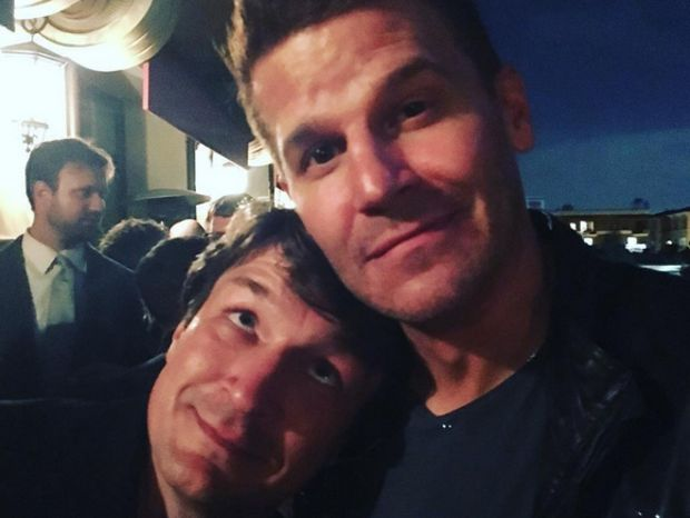 En Direct des USA : Nathan Fillion et David Boreanaz réunis..