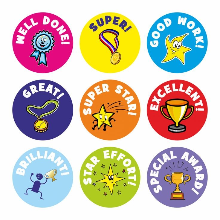 Well Done Praise Stickers| School Stickers For Teachers