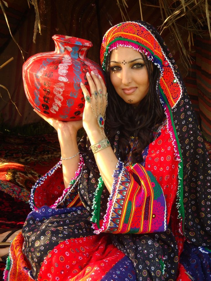 Traditional dress of Afghanistan.