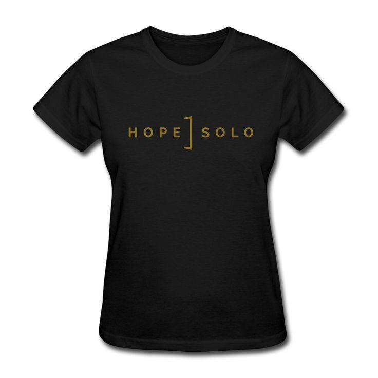 >> Click to Buy << Hope Solo USA Soccerer Women's T-Shirt Shirt Funny Angel Grunge Femme Streetwear Women'S Cotton Funny Designer Women'S T Shirt #Affiliate