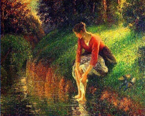 Camille Pissarro - Autumn at Eragny