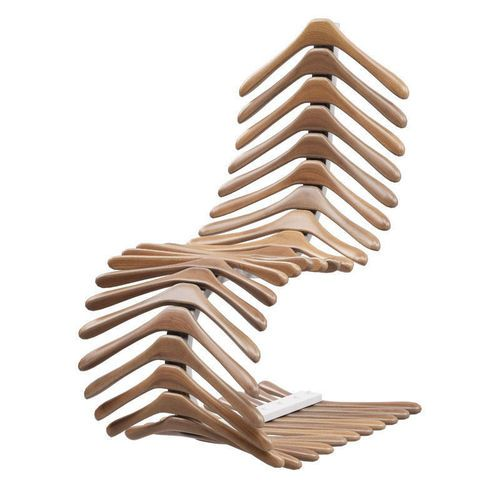 Chair skeleton of hangers – free 3D model ready for CG projects. Available formats: 3D Studio Max (.max)