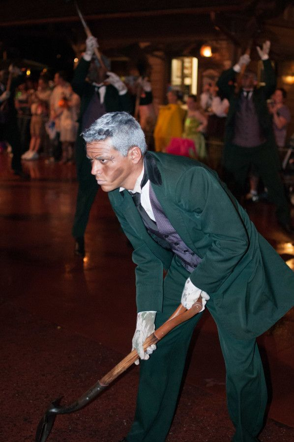 Gravediggers take to the streets for the Boo To You! Parade