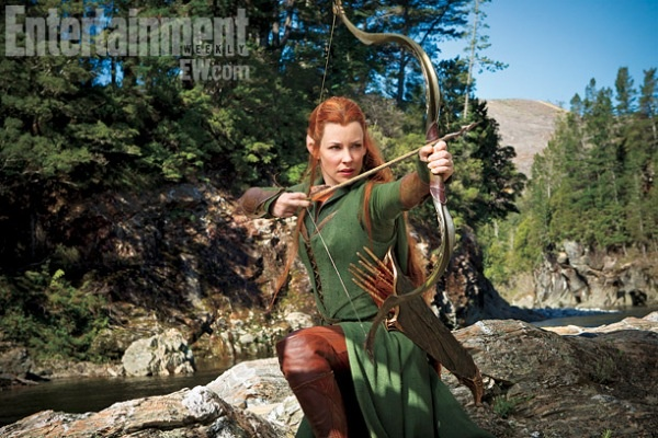 Tauriel the Ginger Elf