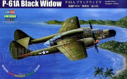 1/48 US Northrop P-61A Black Widow