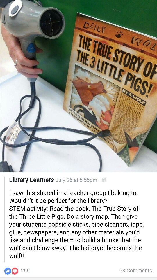 Great literacy stem activity