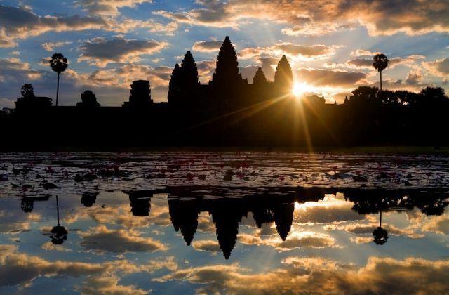 カンボジアのブログ-アンコールワット