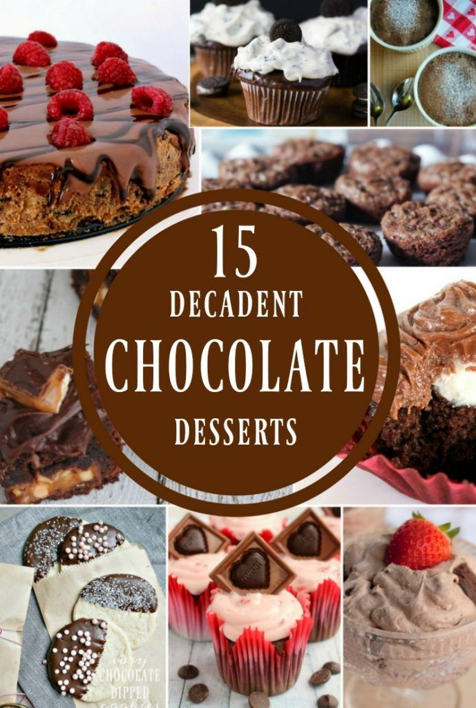 Celebrate National Chocolate Lovers Month with these 15 Decadent Chocolate Dessserts