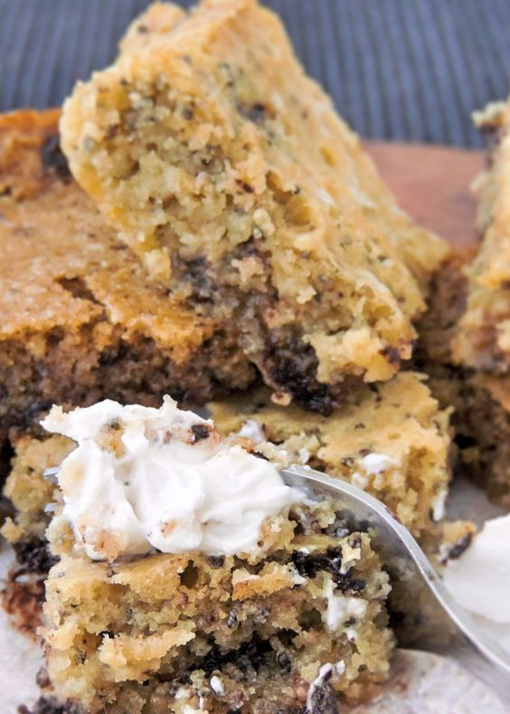 keto cocoa butter blondies