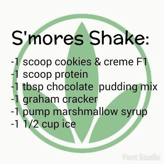 Herbalife Smores Shake www.goherbalife.com/kwissner #herbalife #nutrition…