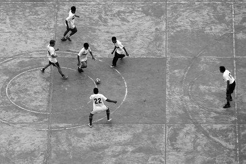 Street soccer photos