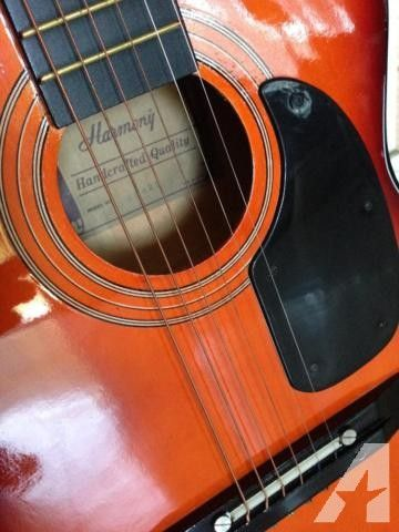 Harmony Acoustic Guitar for Sale in Rosemead, California Classified   AmericanListed.com