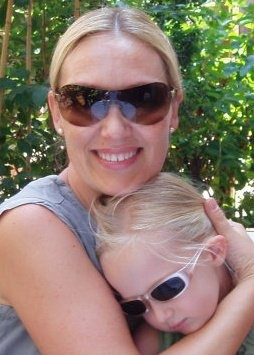 Madonna and her baby ;) Me and Charline Ida Maria <3