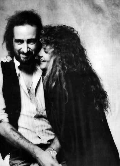 Stevie Nicks with John McVie