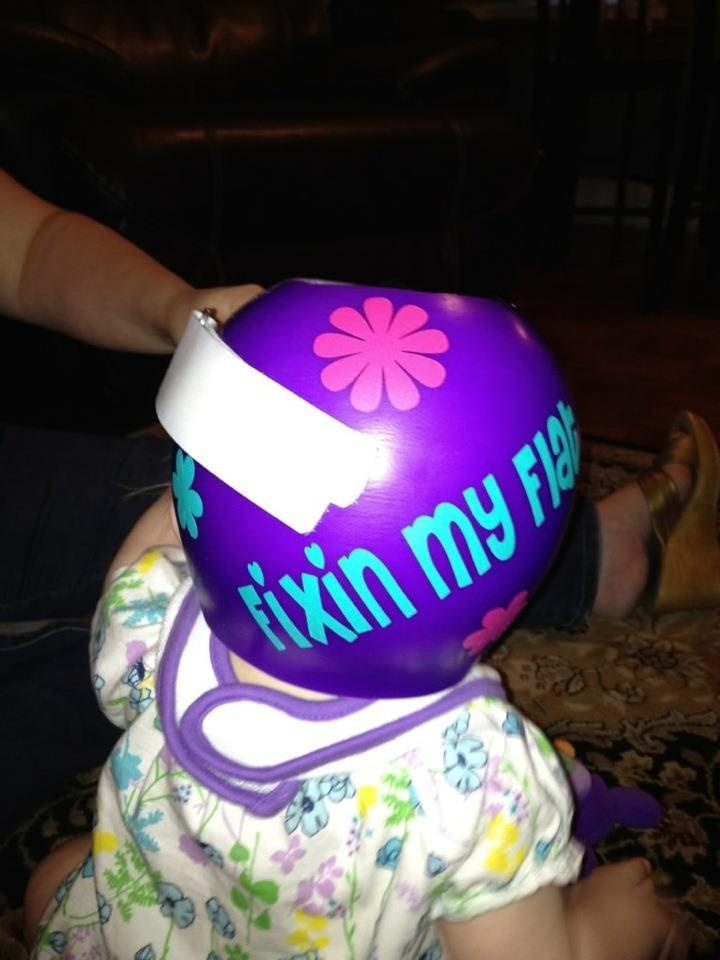 67 best images about for rose twins yay on pinterest for Baby cranial helmet decoration