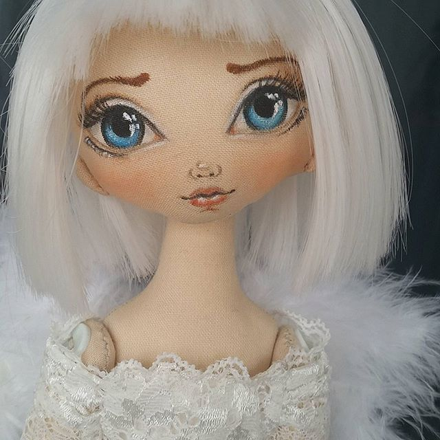 Я обещала не конец истории с клоунессой...#torrytoys #dolls #angel #dollangel #collectiondoll #мастеркрафт #кукларучнойработы #ангел #ангелочки #куклаангел