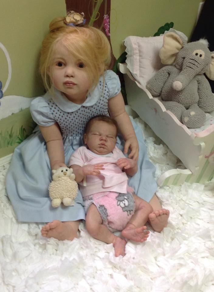 Avalon Toddler by Jannie de Lange - Pre-Order - Online Store - City of Reborn Angels Supplier of Reborn Doll Kits and Supplies