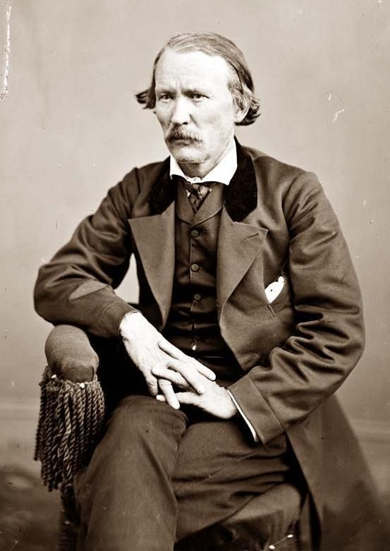 Kit Carson - Frontiersman & Indian Fighter / Brevet Brigadier General Union Army - Born Madison County, Kentucky