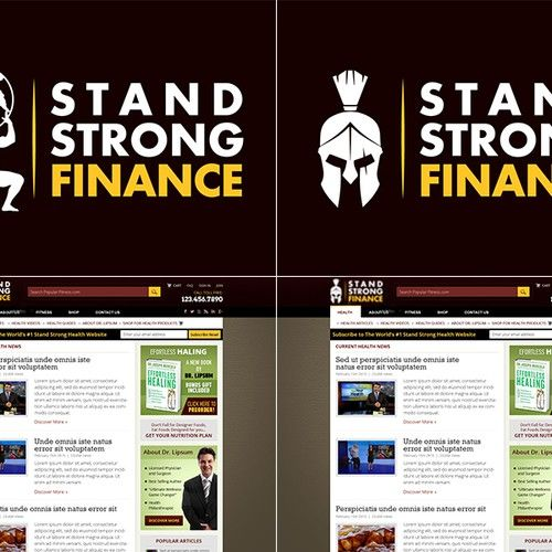 """Stand Strong Finance �20Simple logo fix -- first one to upload the """"right"""" logo gets instant win"""