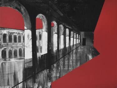 """Saatchi Art Artist Aljona Shapovalova; Painting, """"Holy Inquisition (Part II)"""" #art"""