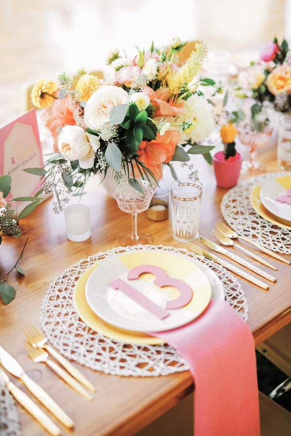 34 best Wedding Table Place Settings images on Pinterest | Wedding ...
