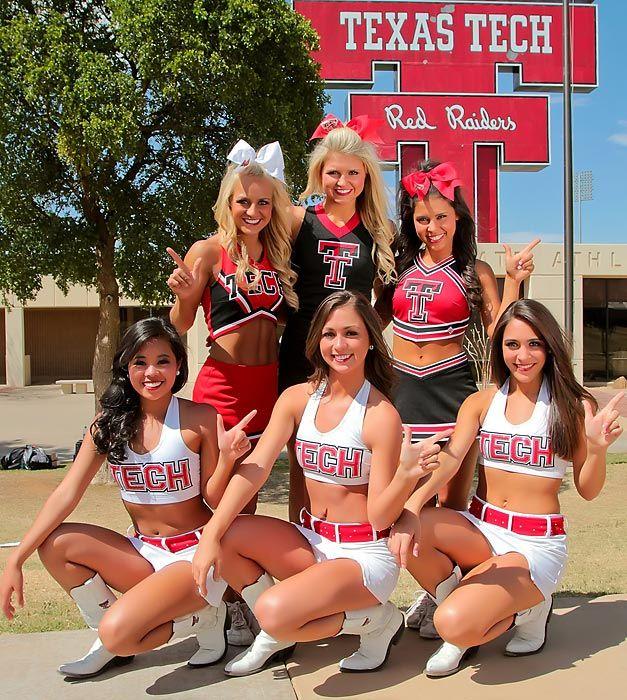 Meet Kelsey, a cheerleader for Texas Tech
