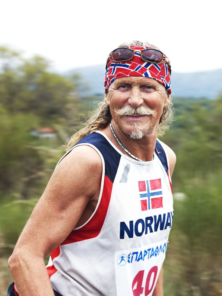 Norwegan competitor in 'Spartathlon' running race from Athens to Sparta.