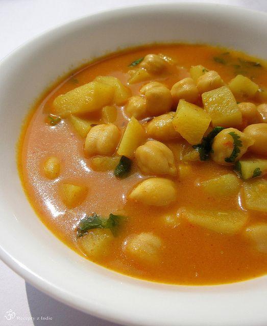 Zemiakovo-cicerova polievka / Potato and chickpea soup