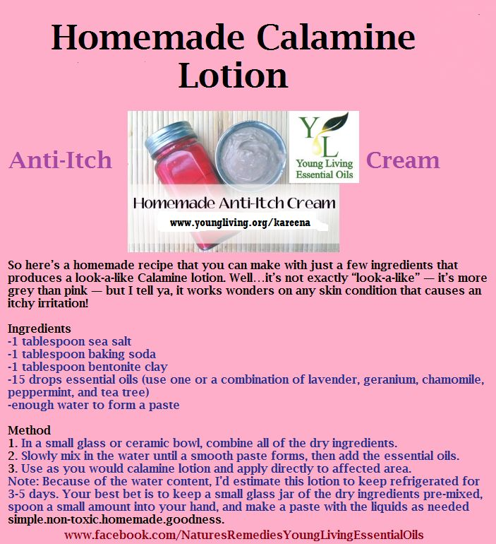 Young Living Essential Oils: Anti-itch Cream Calamine Lotion