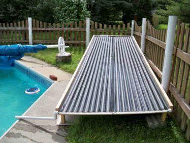 diy solar pool heating instructions