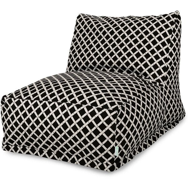 Dot & Bo Tropical Bean Bag Chair Lounger ($120) ❤ liked on Polyvore featuring home, outdoors, patio furniture, outdoor loungers & day beds, outside chaise lounge, outdoor patio furniture, outdoor furniture, outdoor bean bags and outside patio furniture