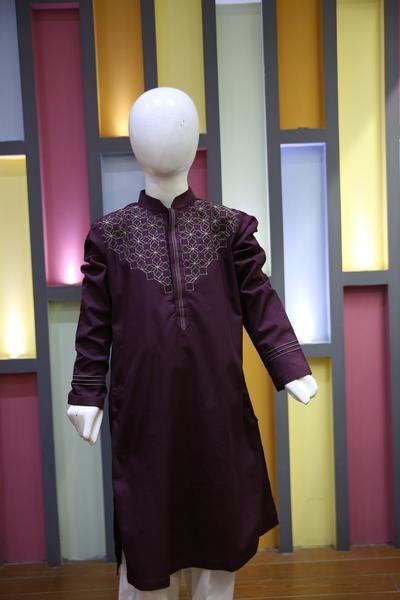 16LS2301 RS1390 #desi #pakistani #fabstore #kurta #kidswear