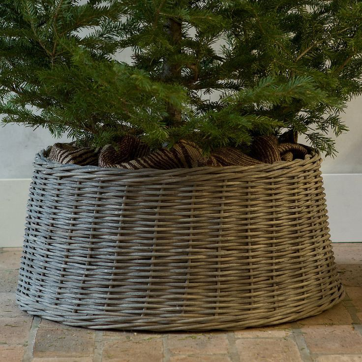 Christmas Tree In Basket From Shopterrain